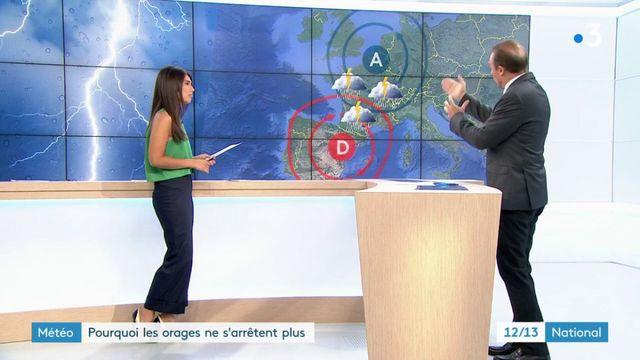 Météo : pourquoi les orages ne s'arrêtent plus en France ?