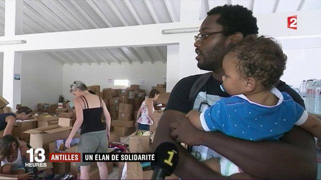 Ouragan Irma : la Guadeloupe au chevet des sinistrés