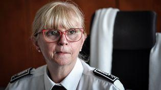 Brigitte Jullien, directrice de l'IGPN, le 13 juin 2019 à Paris. (STEPHANE DE SAKUTIN / AFP)