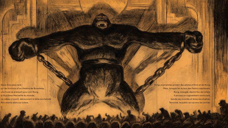 """Pages intérieures, """"King Kong"""" (Christophe Blain, Robinson / Hachette)"""