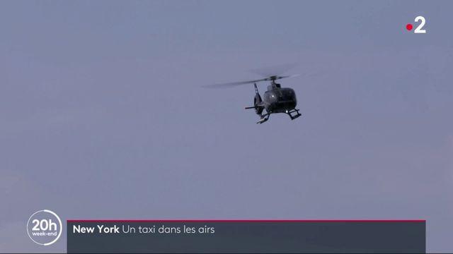 New York : Uber, un taxi dans les airs