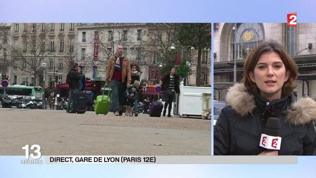 Vacances de Noël : 1,2 million de voyageurs attendus ce week-end dans les trains