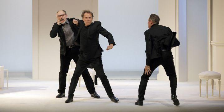 """Art"" de Yasmina Reza au théâtre Antoine  (Pascal Victor/ArtcomART)"