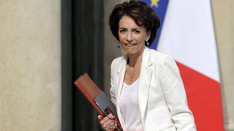 (© MaxPPP Marisol Touraine a présenté ce jeudi matin les grandes orientations de la loi santé)
