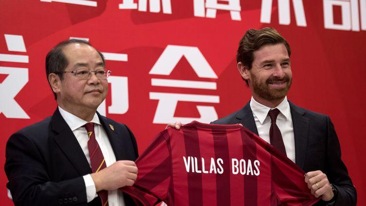 Villas-Boas (JOHANNES EISELE / AFP)