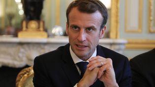 Emmanuel Macron, le 29 octobre 2018, à Paris. (LUDOVIC MARIN / AFP)