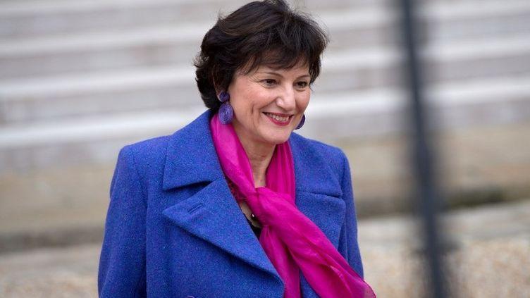 Dominique Bertinotti, mi,istre déléguée à la Famille, à la sortie du conseil des ministres, le 7 novembre 2012. (BERTRAND LANGLOIS / AFP)