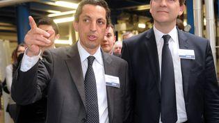 L'entrepreneur français Jean-Marc Barki, le 21 mars 2013. (FRANCOIS LO PRESTI / AFP)