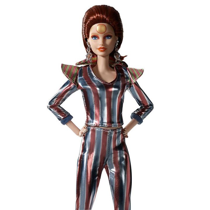La poupée Barbie® de collection en tenue de Ziggy Stardust, lancée par Mattel. (MATTEL)