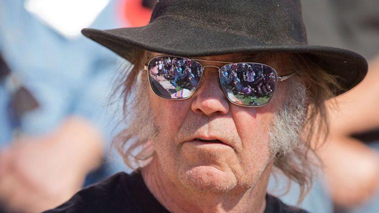 Neil Young le 27 septembre 2014.  ( Mark Davis/AP/SIPA)
