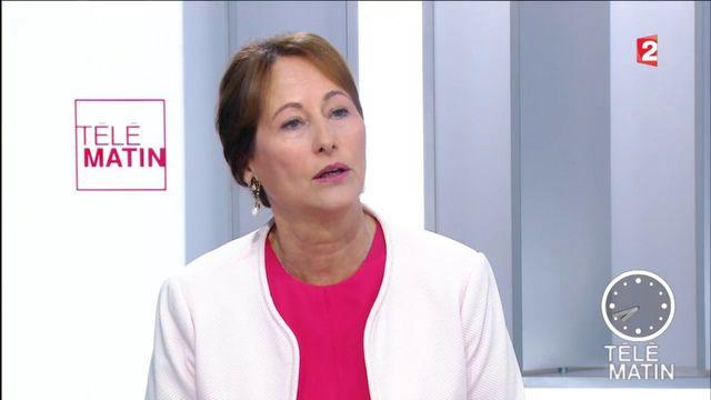 """""""Nous allons donner à l'essence le même avantage que le diesel"""", promet Ségolène Royal"""