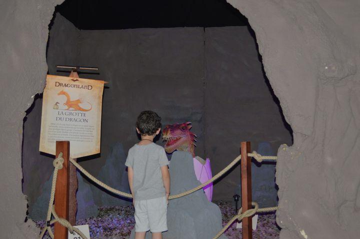 Un enfant de 6 ans semble avoir trouvé un dragon à sa taille...  (Yohann Perez)