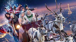 """""""Santa & Cie"""" : l'afiche (détail)  (Gaumont Distribution)"""