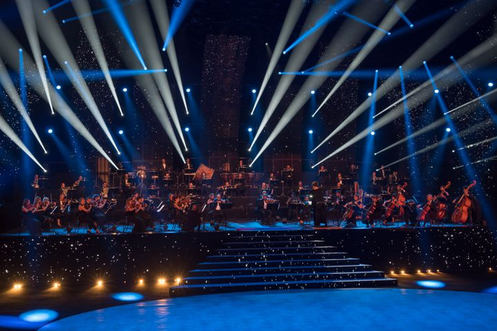 Cette année, c'est l'Orchestre Philharmonique de Marseille qui a accompagné le passage sur scène des candidats. (FRANÇOIS LEFEBVRE | Prodiges)