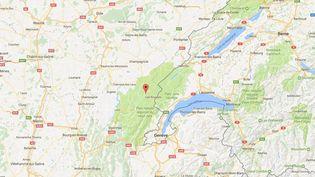 Un septuagénaire a ouvert le feu sur des cambrioleurs qui s'étaient introduits dans sa casse-auto, à La Mouille (Jura), le 7 décembre 2016. (GOOGLE MAPS)
