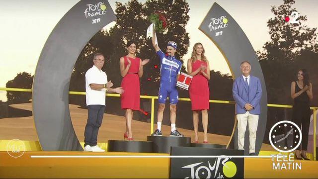 Tour de France: Julian Alaphilippe, nouveau chouchou des Français