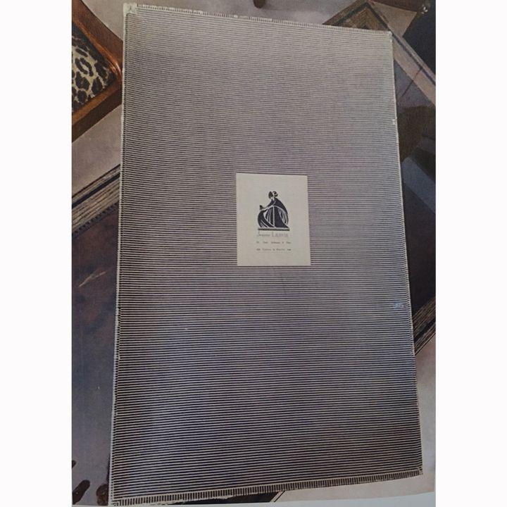 Boîte ayant appartenue à Jeanne Lanvin source d'inspiration pour Olivier Lapidus  (Corinne Jeammet)