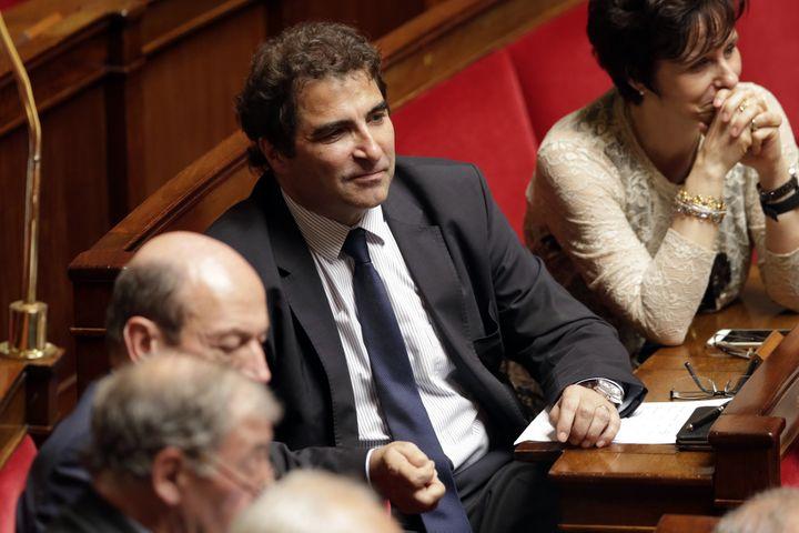 Christian Jacob à l'Assemblée nationale (Paris), le 7 juin 2016. (THOMAS SAMSON / AFP)