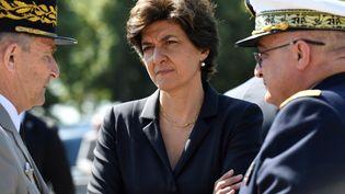 Sylvie Goulard, inquiétée par l'affaire des présumés emplois fictifs du MoDem, a démissionné de son poste de ministre de la Défense, mardi 20 juin. (BERTRAND GUAY / AFP)