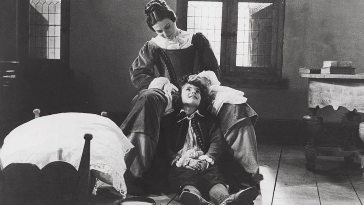 """Odile Cointepas et Frédéric Ladonne dans """"Molière"""" par le Théâtre du Soleil, 1978  (Kobal / The Picture Desk / AFP)"""