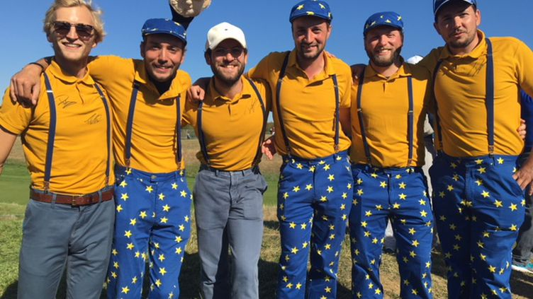 """Les """"froggies"""" au Golf National pour la Ryder Cup"""