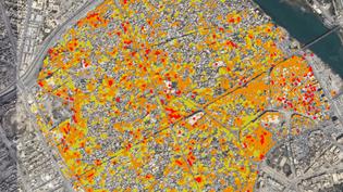 CARTE. Visualisez l'ampleur de la destruction de la vieille ville de Mossoul (NICOLAS ENAULT / CARTO)