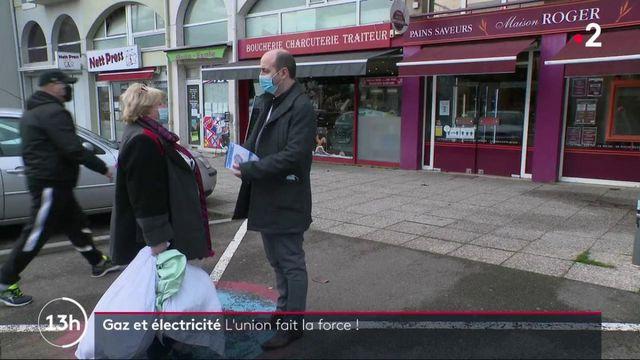 Gaz et électricité : des habitants se rassemblent pour des prix plus bas