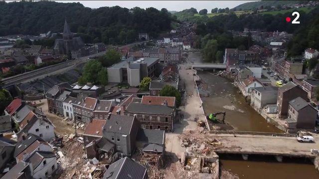 Inondations en Belgique : routes, ponts, voies ferrées... Toute une région à reconstruire
