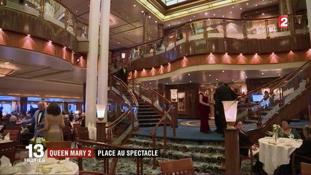 Queen Mary 2 : les coulisses d'un véritable palace flottant