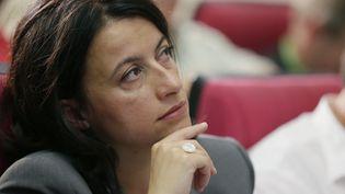 La ministre écologiste du Logement, Cécile Duflot, le 23 juin. (KENZO TRIBOUILLARD / AFP)