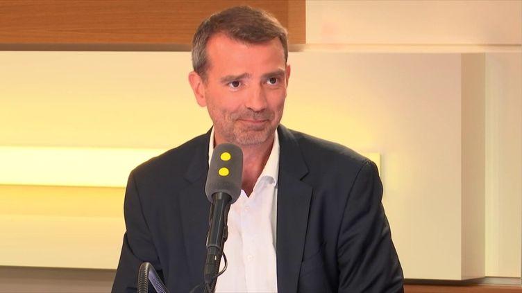 Guillaume Richard, président de Oui Care, le 6 septembre 2018. (RADIO FRANCE / FRANCEINFO)