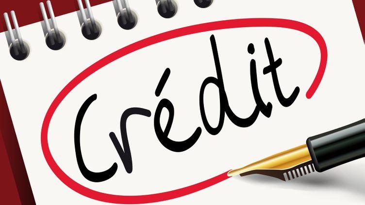 (Obtenir un bon taux de crédit auprès de votre banque - illustration prétexte © Fotolia)