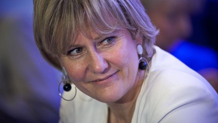 La députée européenne Nadine Morano, le 24 avril 2014 à Paris. (NICOLAS MESSYASZ / SIPA)