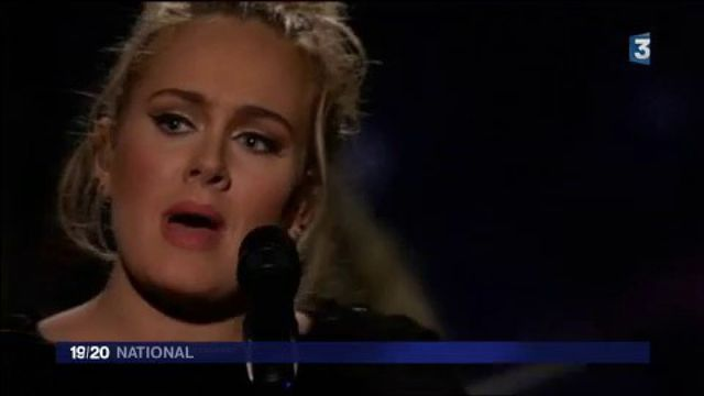 Musique : Adele a trôné sur les Grammy Awards