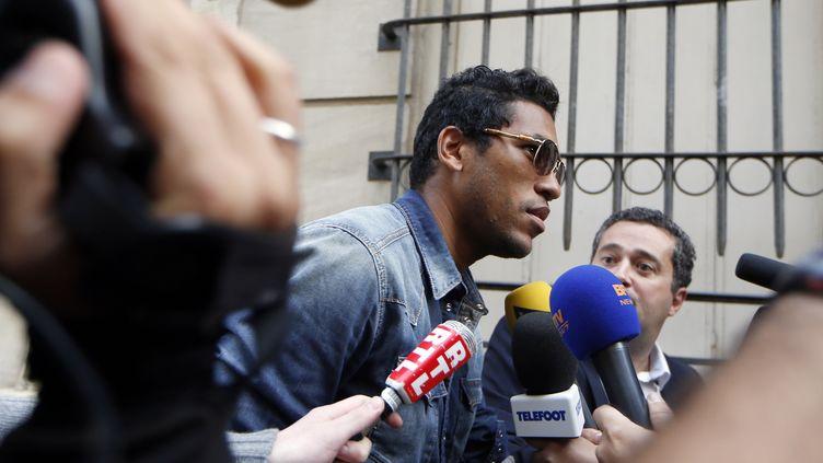 Brandao s'est présenté de lui même pour être entendu devant l'instance disciplinaire de la LFP (THOMAS SAMSON / AFP)