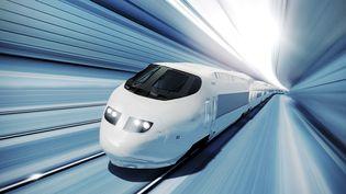 A quoi ressemblera le train du futur ? La mobilité ferroviaire zéro carbone est-elle pour demain ? (Illustration) (DOUG ARMAND / STONE RF / GETTY IMAGES)
