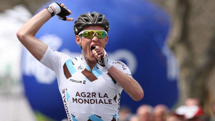 Maxime Bouet (AG2R La Mondiale) (PIERRE TEYSSOT / AFP)