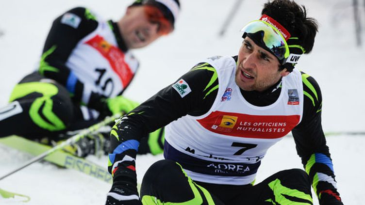 L'athlète français, Jason Lamu-Chappuis