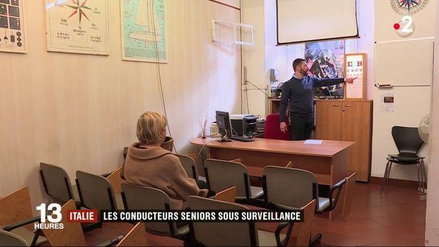 .Italie : des visites médicales pour les automobilistes seniors