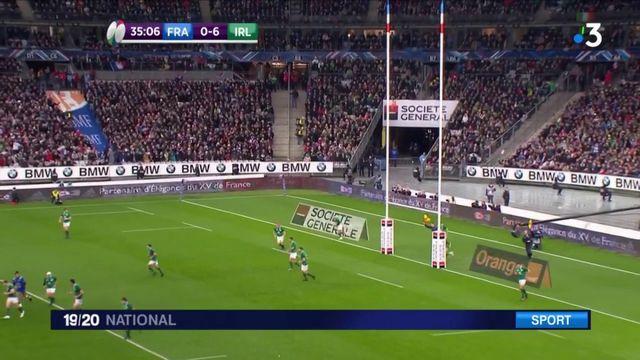 Rugby : la France vaincue par l'Irlande en match d'ouverture des six nations