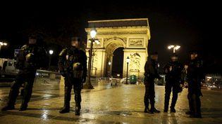 Dispositif policier autour des Champs-Elysées (photo d'illustration) (YANN FOREIX / MAXPPP)