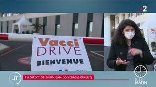 Un vaccidrive installé en France (France 2)