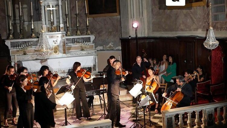 Concert d'ouverture du festival à l'Eglise Santa Maria de Vicu (©Eva Mattei)