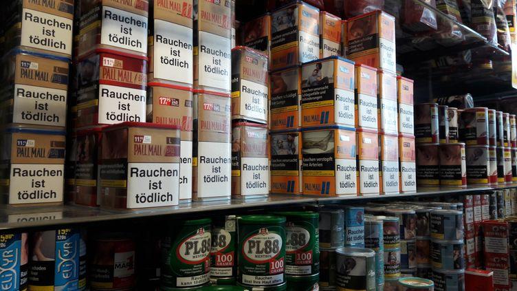Un bureau de tabacà Kehl, en Allemagne, le 14 juillet 2017. (AUDE RASO / RADIO FRANCE)