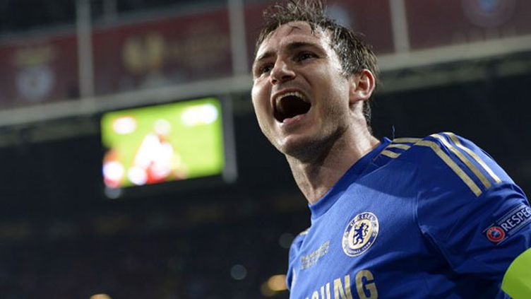 Le milieu de terrain de Chelsea, Frank Lampard