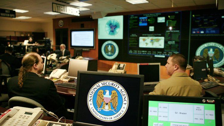 Le centre opérationnel de la NSA, l'Agence de sécurité nationale américaine, à Fort Meade (Maryland, Etats-Unis), le 25 janvier 2006. (JASON REED / REUTERS)