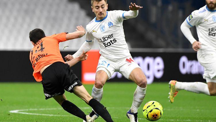 L'OM a concédé le nul contre Reims malgré une très nette domination (NICOLAS TUCAT / AFP)