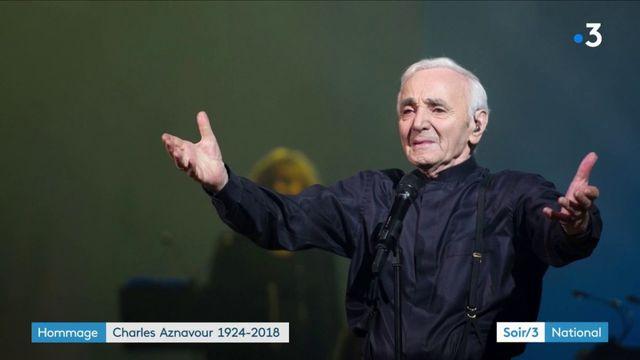 Mort de Charles Aznavour : l'émotion des Français