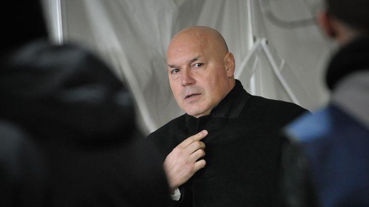 José Anigo va également être entendu à l'Hôtel de police de la cité phocéenne (BERTRAND LANGLOIS / AFP)