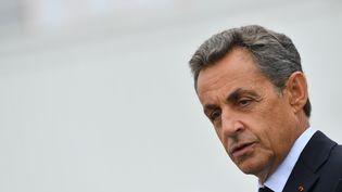 Nicolas Sarkozy donne un discours, le 4 septembre 2016, à La Baule (Loire-Atlantique). (FRANCOIS PAULETTO / CITIZENSIDE / AFP)